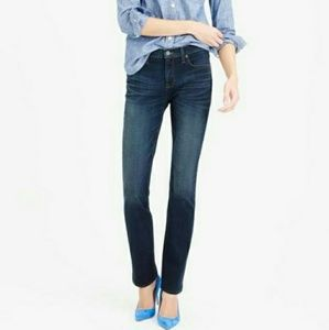 J CREW STRETCH Matchstick dark wash jeans